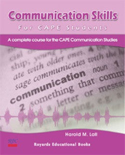 Communication Skills for CAPE