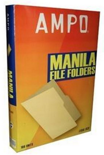 Ampo L/S File Folder - Manilla
