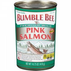 Bumble Bee Canned Pink Salmon Canned (Pack of 4 x 14.75-Ounce Cans)