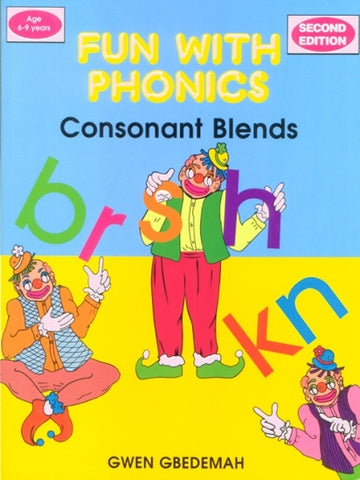 Fun with Phonics Consonant Blends Second Edition