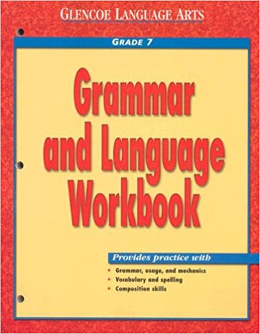 Grammar And Language Workbook Grade 7