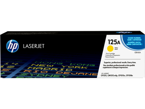 HP 125A - Yellow - original toner cartridge (CB542A)