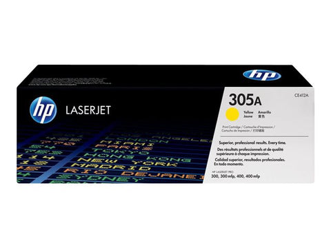 HP 305A original yellow toner
