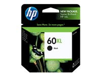 HP 60XL high yield black 12 ml printer ink cartridge