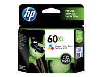 HP 60XL high yield colour 11 ml printer ink cartridge