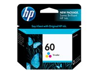 HP 60 colour regular 4 ml printer ink cartridge