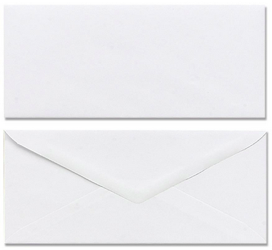 Marander #10 White Plain Envelopes 90 gm