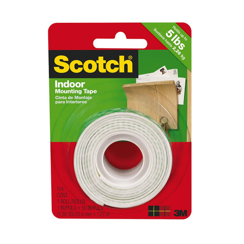 Scotch Mounting Tape 1 inch - 114