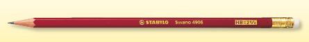 Stabilo Swano HB2 Pencil 4906HB (Wholesale)