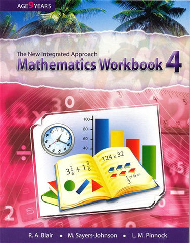 The New Integrated Approach Mathematics Workbook 4 (Isaacs, Sayers Johnson and Pinnock)