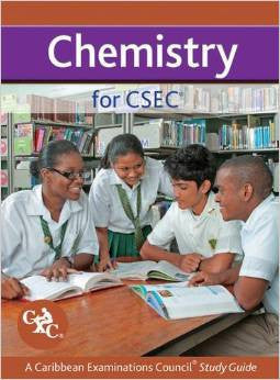 Chemistry for CSEC Study Guide A Caribbean Examinations