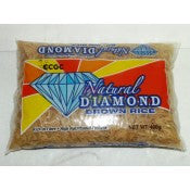 NATURAL DIAMOND BROWN RICE 400G