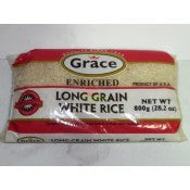 GRACE LONG GRAIN WHITE RICE 800G