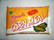 MIRACLE REFINED CORNMEAL 400G