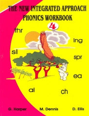 The New Integrated Approach Phonics Workbook 4 (Harper, Ellis, Dennis)