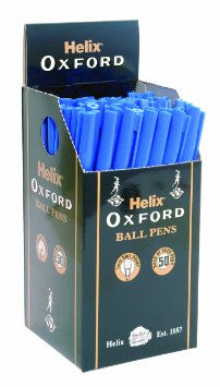 Oxford Blu B/P Stick Pen (Wholesale)