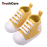 Fashion Infant Toddler Newborn Shoes Baby Girl Boy Sports Sneakers Soft Bottom Anti-slip T-tied First Walkers Prewalker