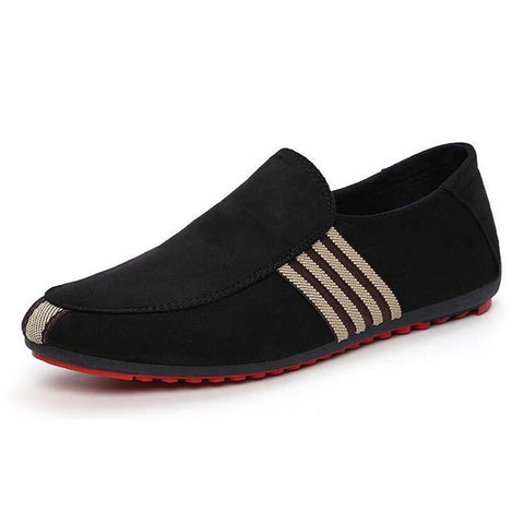 HEE GRAND Brand 2017 Fashion Slip-On Flat Breathable Casual Male Shoes, Striped Solid Men Summer Fashion Shoes XMR212