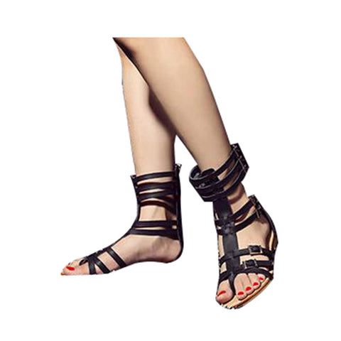 c069b62d916 HEE GRAND Brand Fashion New Summer Gladiator Sandals Woman Flat With S –  DWINET Shopper Limited