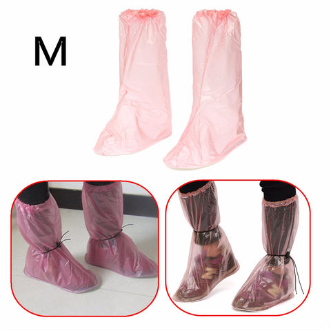 Best Deal Reusable Waterproof Non Slip Shoe Covers Rain Boot For Motorcycle Bicycle For Camping Hiking Outdoor Tool