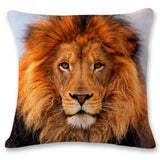 3D Tiger Lion Sofa Bed Home Decoration Festival Pillow Case Cushion Cover