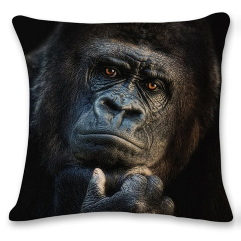 3D Orangutan Owl Sofa Bed Home Decoration Festival Pillow Case Cushion Cover