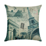 2017 New Cotton Linen Square Decor Throw Pillow Case Cushion Cover landscape