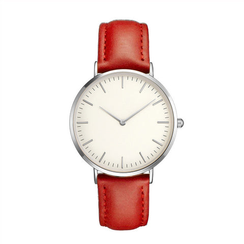 Women Men Casual Simple Quartz Analog Watch Band Wrist Watches