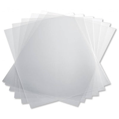transparent presentation front cover for spiral bound documents box of 100