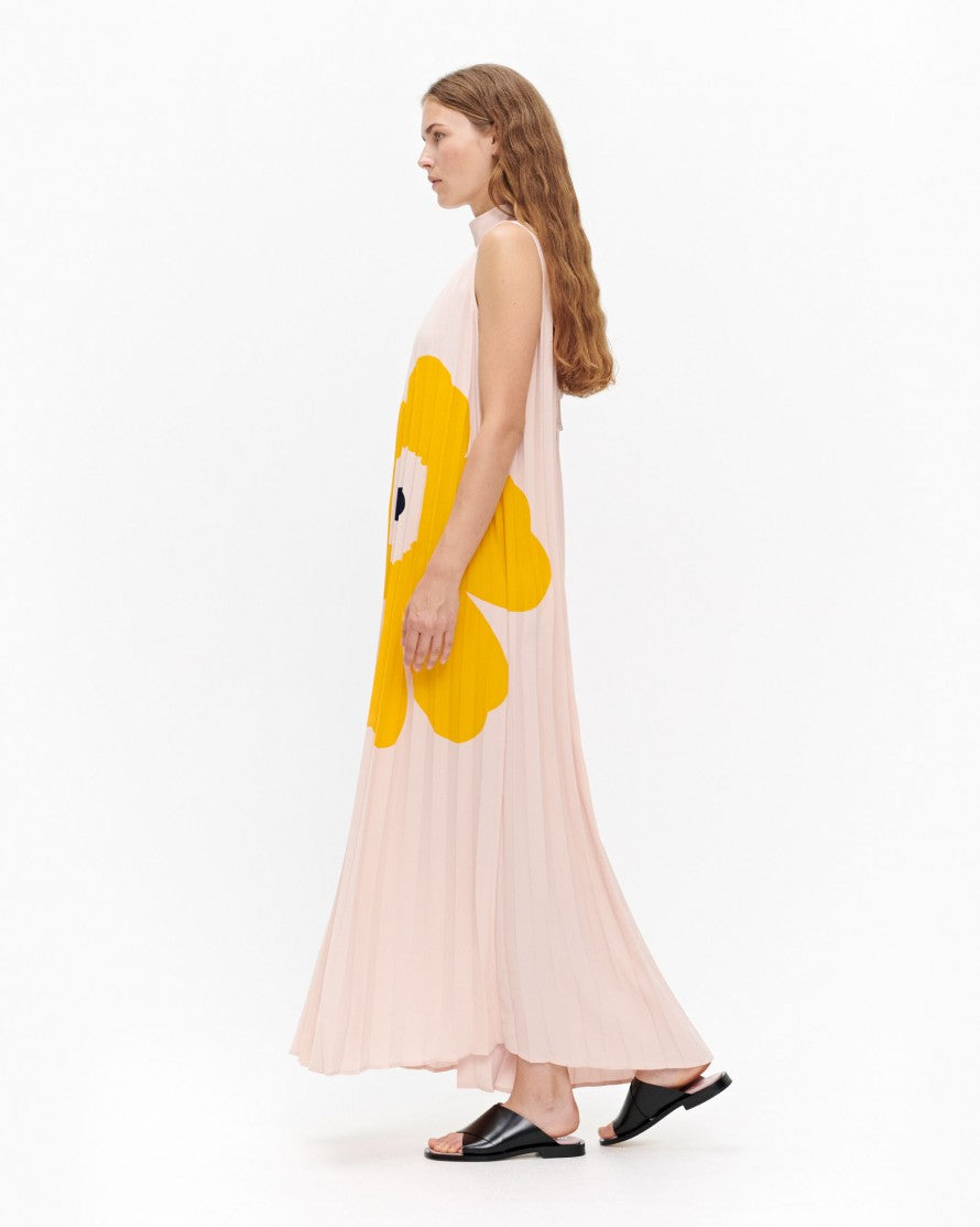 Marimekko - Taitos dress - pleated sleeveless maxi dress - Idun - St. Paul