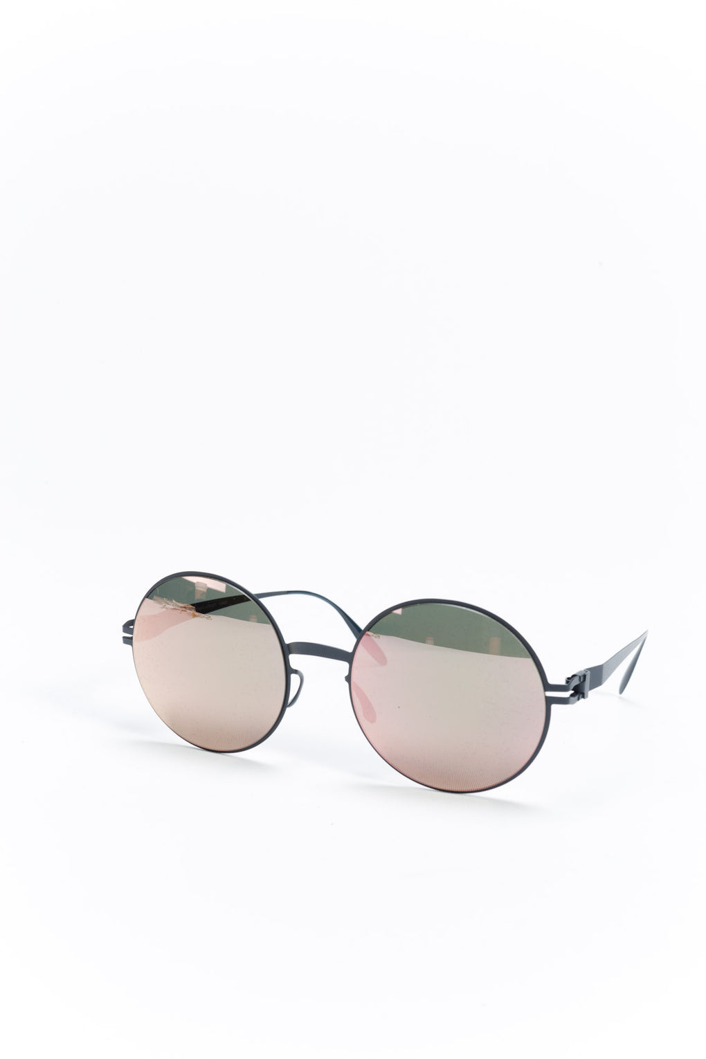 Janis Sunglasses Navy Blue/Rosegold
