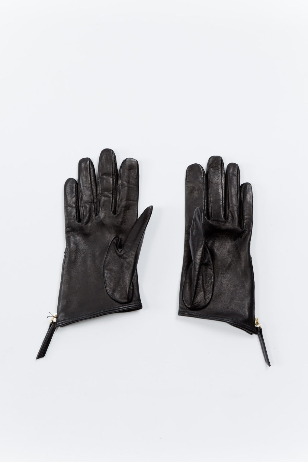 Madeleine Short Zip Glove Black