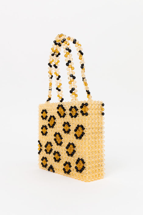 Susan Alexandra Leopard Bag-Small Bag-Beaded Bag