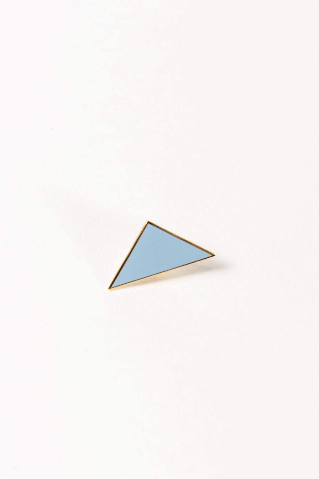Light Blue Triangle