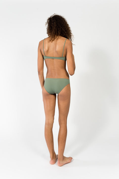 Nu Swim low low bottoms-Swim bottoms-green swimsuit-Idun-Saint Paul