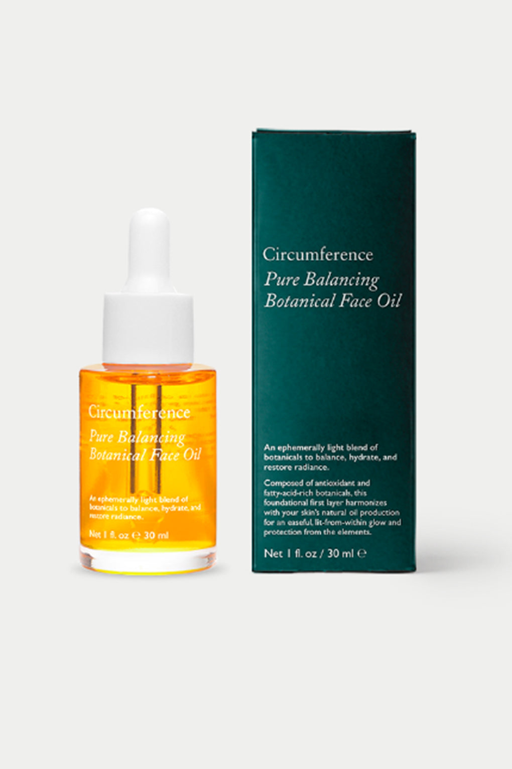 Circumference NYC Skincare Pure Balancing Botanical Face Oil