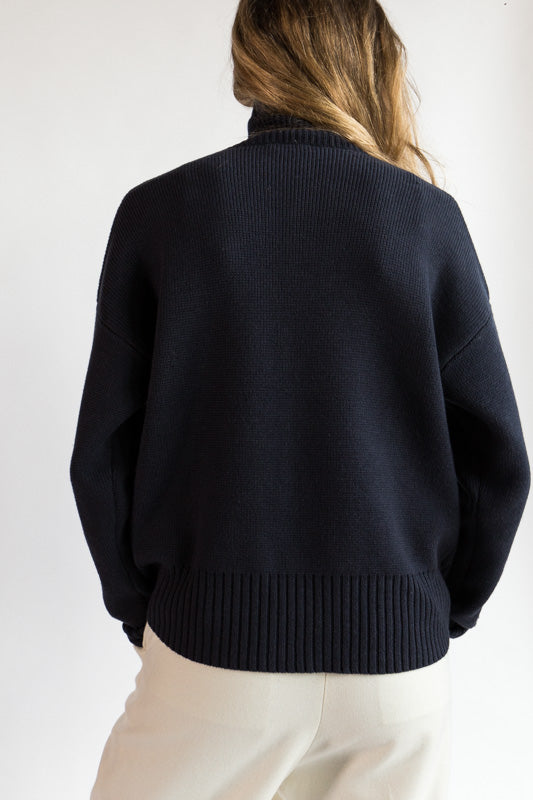 Seam Turtleneck