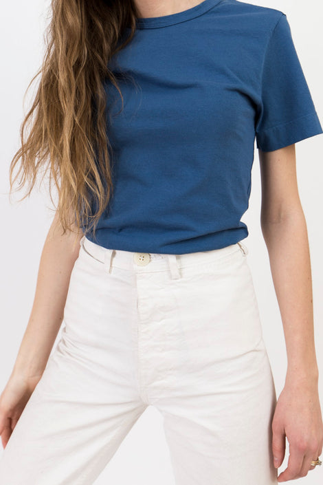 Jesse Kamm Sailor Tee Blue Corn-Kamm-Blue Tee Shirt