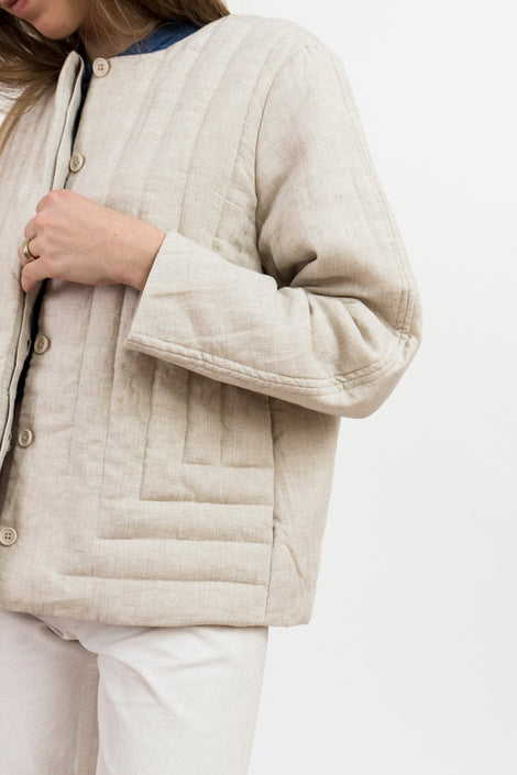 Spring Quilted Jacket