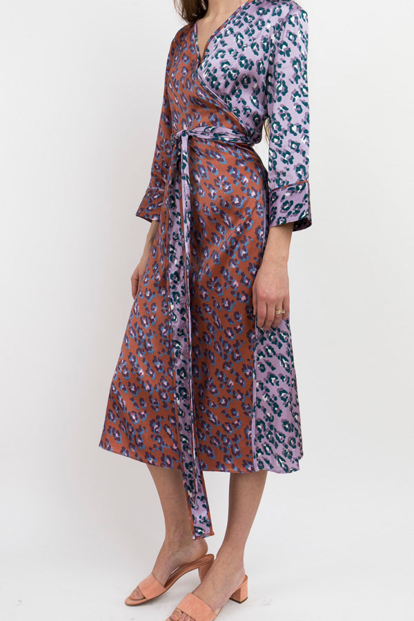 Rachel Antonoff Willow Wrap Dress-Wrap Dress