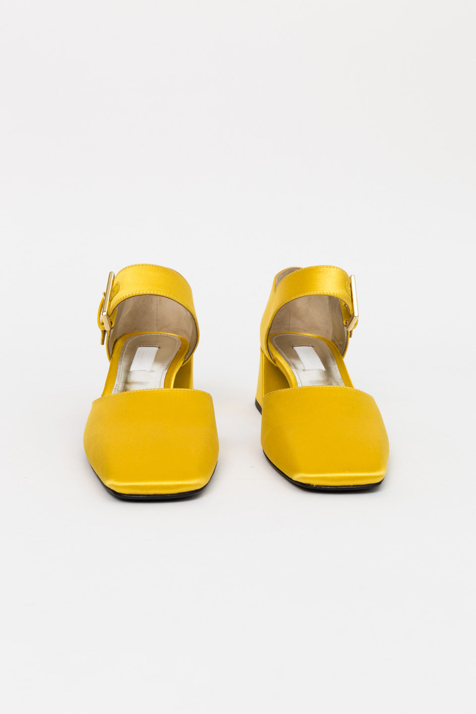 Suzanne Rae Maryjane with Bow Clip-Suzanne Rae Heels-Yellow Heel