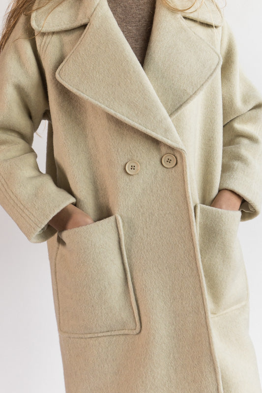 Classic Long Wool Coat