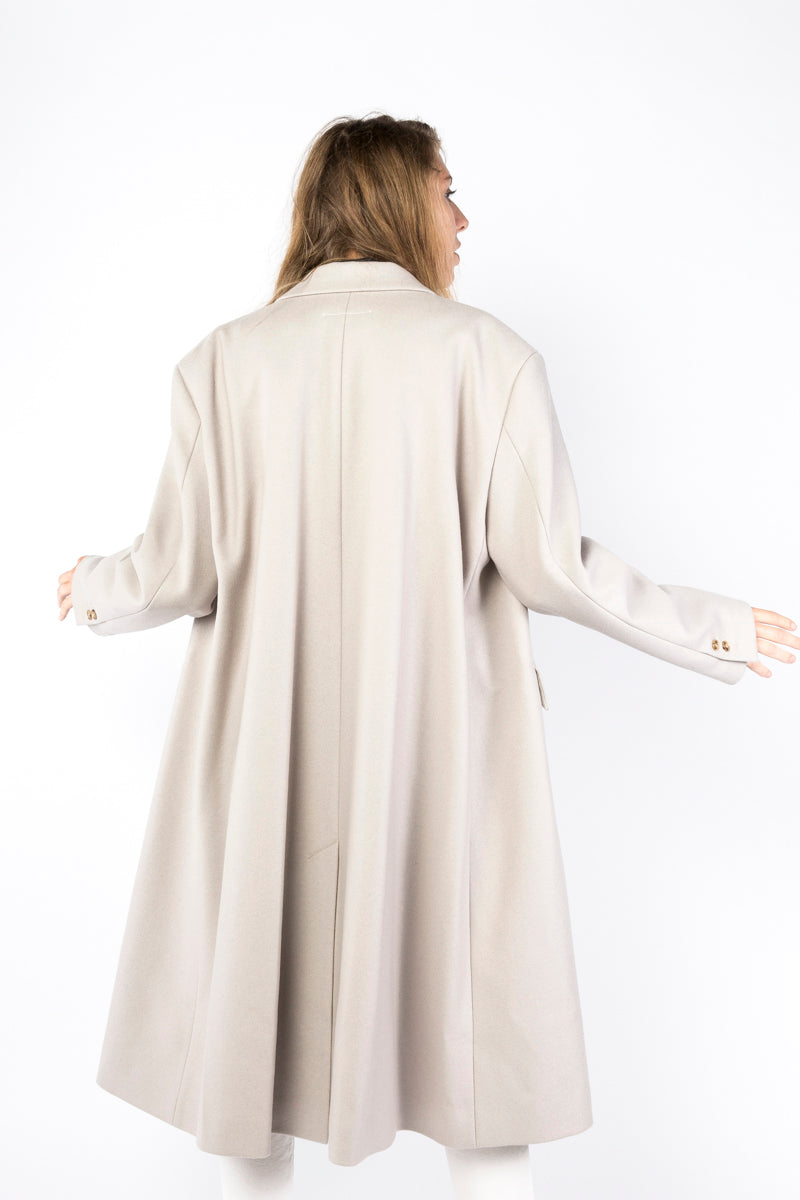Idun-Saint Paul-MM6 by Maison Margiela Wool Blend Coat-MM6 Coat-Wool Coat-Winter Coat