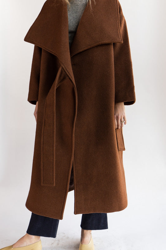 Lapel Winter Coat