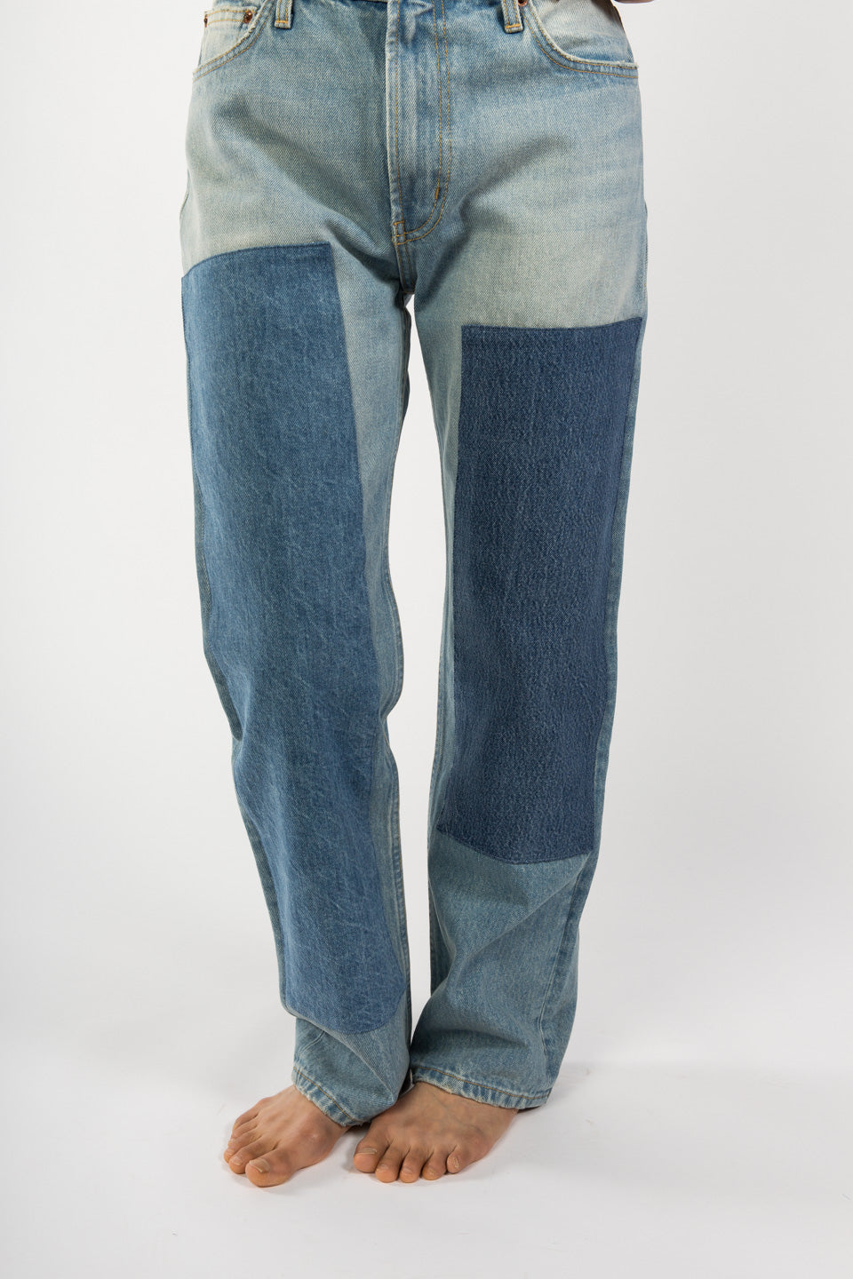B Sides Jeans-Arts Mid Straight Denim