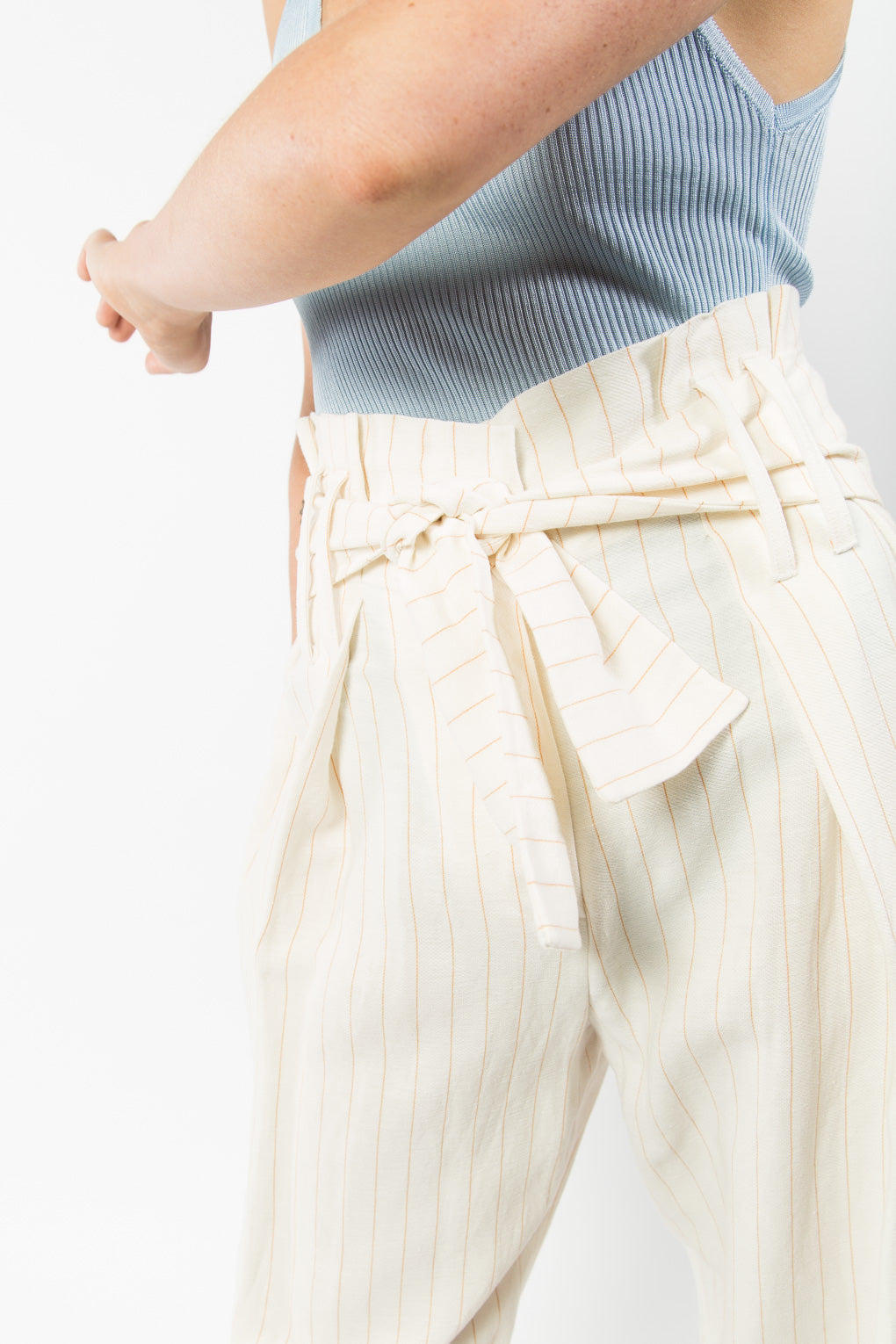 Studio Nicholson Bora Trouser-Pinstripe trouser-Summer Pants-Idun-Saint Paul