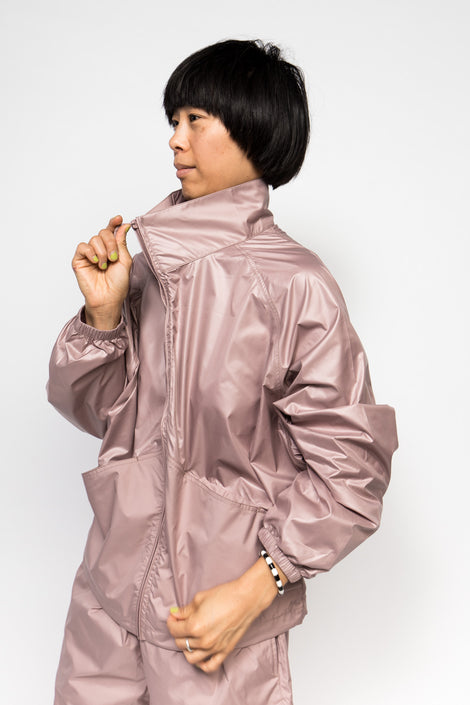 Maiden Noir Pillow Jacket Mauve-Technical Wear-Tech Wear-Athletic Wear-Athleisure-Idun-Saint Paul