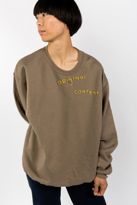 Custom Sweatshirt Original Content