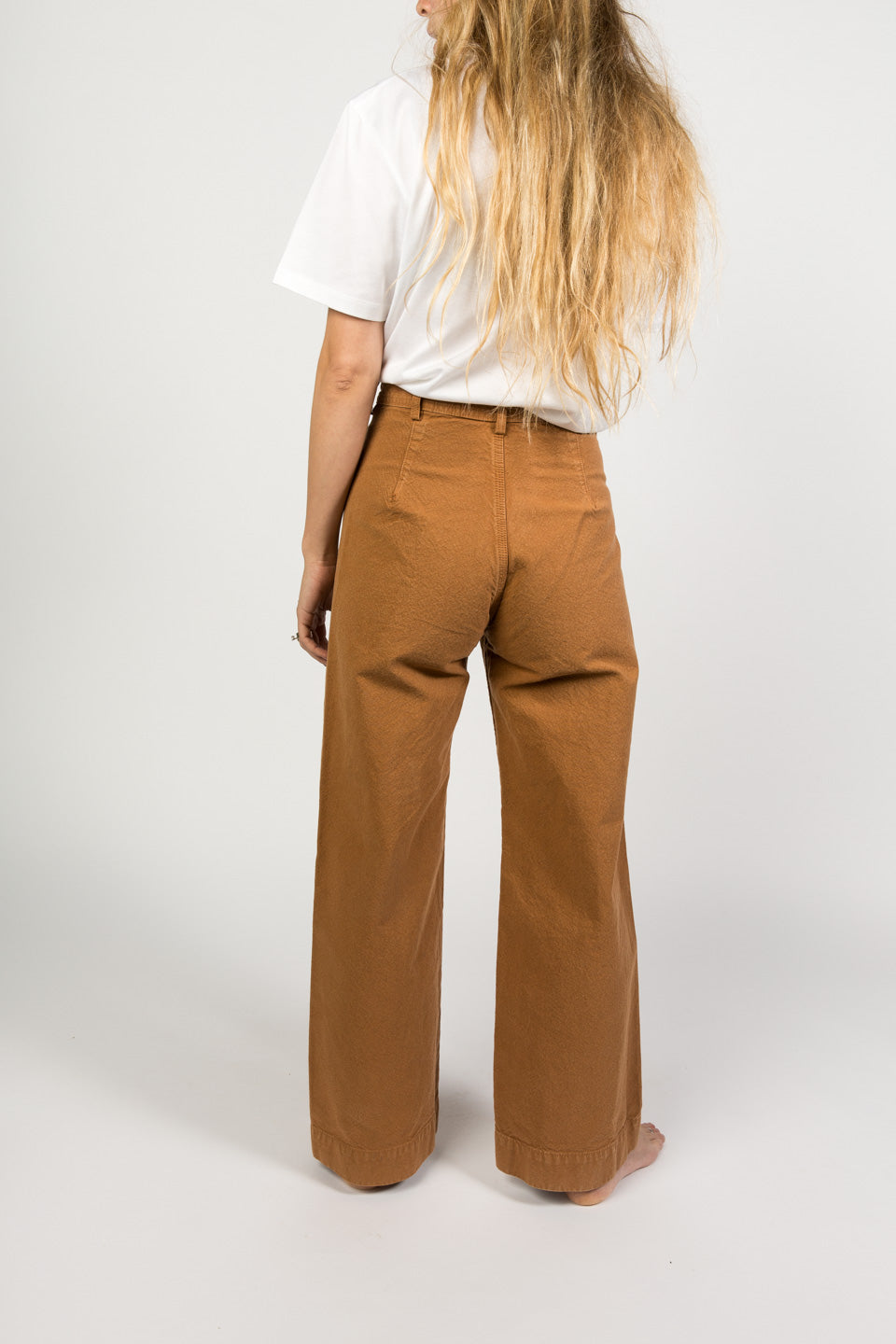 Jesse Kamm Sailor Pant Cork-Kamm Pants-Wide Leg Trouser