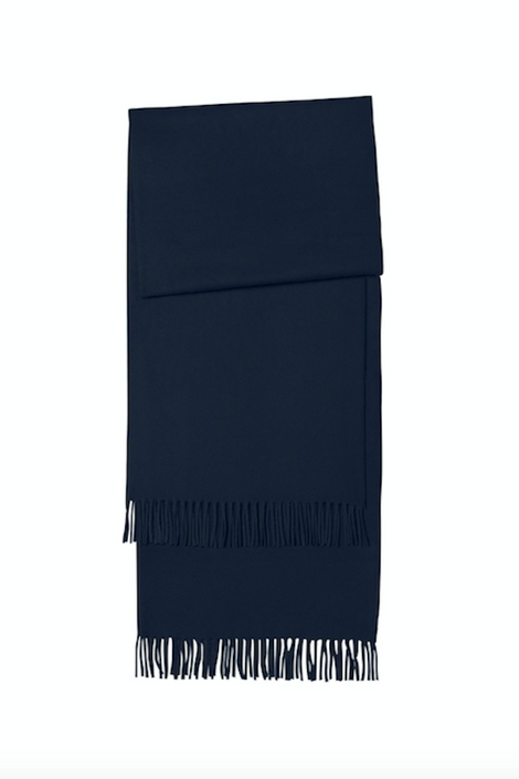 A.P.C. Alix Scarf-navy scarf-blue winter scarf-Idun-St. Paul